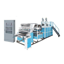 Double layers stretch film blowing machine