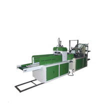 Fully Automatic Double Layers Two Lines Cold Cutting Bag Making Machine